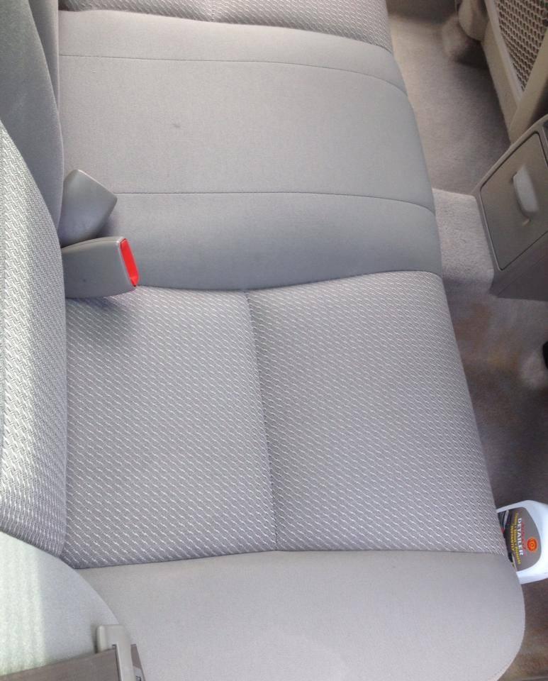 Interior Cloth Seats After