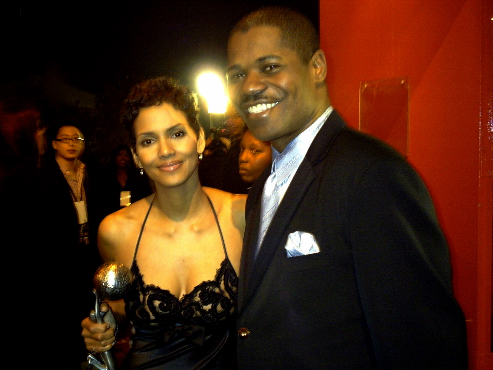 Halle Berry & Caesar