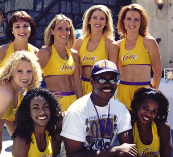Caesar & The Laker Girls