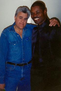 Jay Leno and Caesar