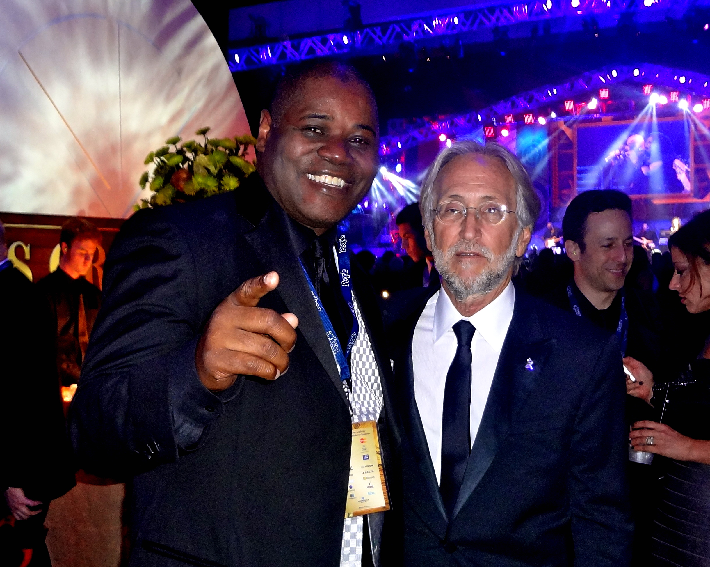 Caesar & Neil Portnow -  President of The Recording Academy (Grammy Awards)