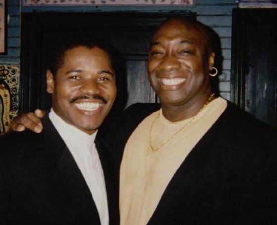 Caesar & Michael Clark Duncan