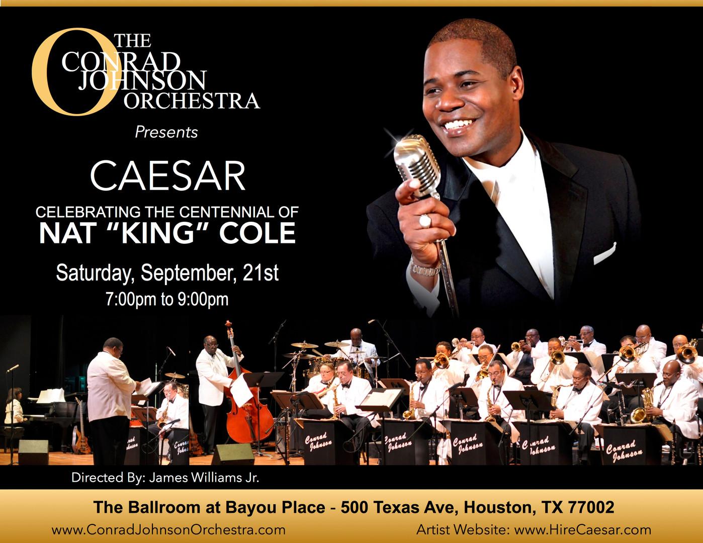 Caesar Swings with The Conrad Johnson Big Band