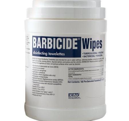 Barbacide Wipes