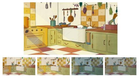 Kitchen lighting tests