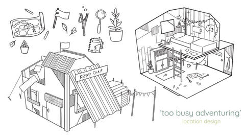'Too Busy Adventuring' - Secret Hideout