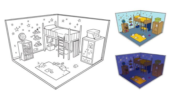 'Too Busy Adventuring' - bedroom design