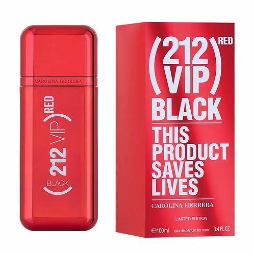 212 Vip Black RED EDP Masculino 100ml