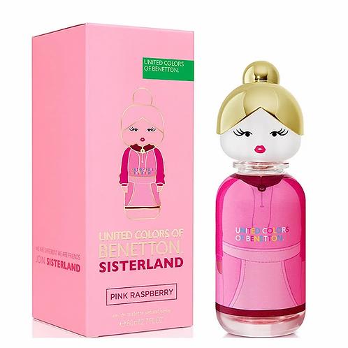 Sisterland Pink Raspberry EDT Feminino 80ml