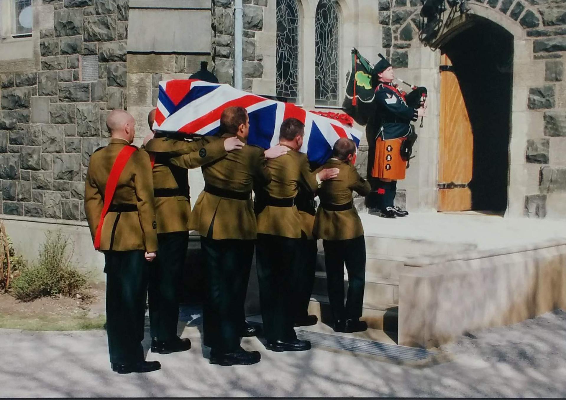 COLOUR - Last Farewell by Herbie Barr (9 marks)