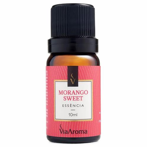 Essência Morango Sweet 10ml Via Aroma