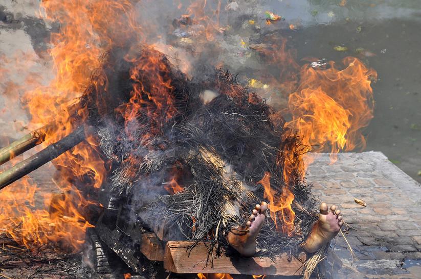 COLOUR - The Burning by Kieran D Murray (13 marks)