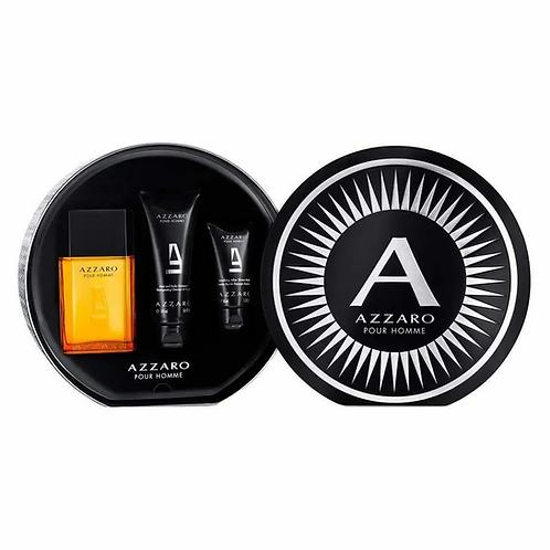 Azzaro EDT Masculino 100ml+Shampoo 100ml+Pós Barba 50ml