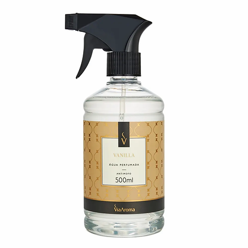 Água Perfumada Black Vanilla 500ml Via Aroma