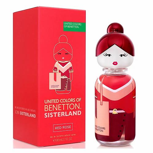 Sisterland Red Rose EDT Feminino 80ml