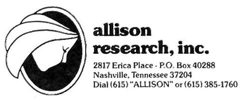 Allison Research Nashville