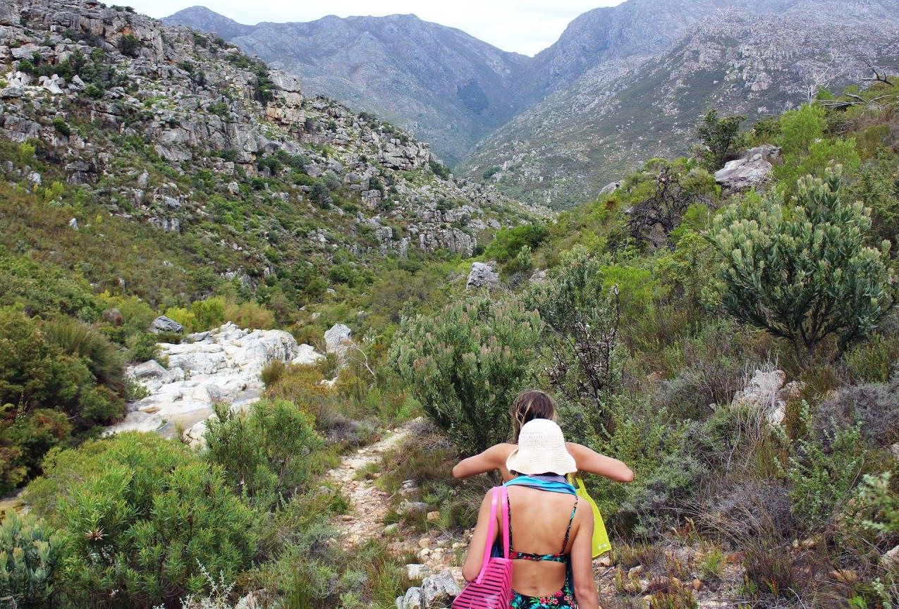 Hiking around Cape Town