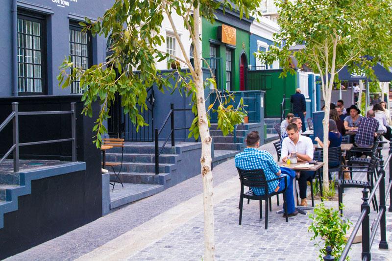 Dining on Bree Street Cape Town CBD