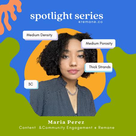 Spotlight Series: Meet Maria
