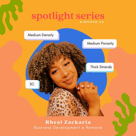 Spotlight Series: Meet Rheal