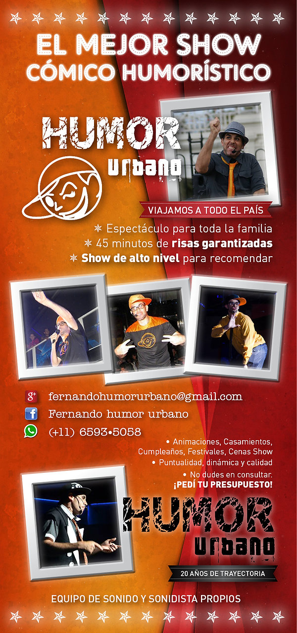 show humor y stand up