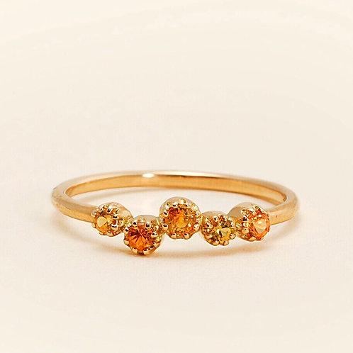Magic Topkapi Yellow Sapphire Ring