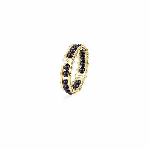 "The Impressionists Ring- ""Cobalt Black III"""