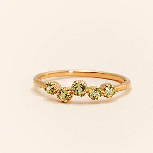 Magic Topkapi Peridot Ring