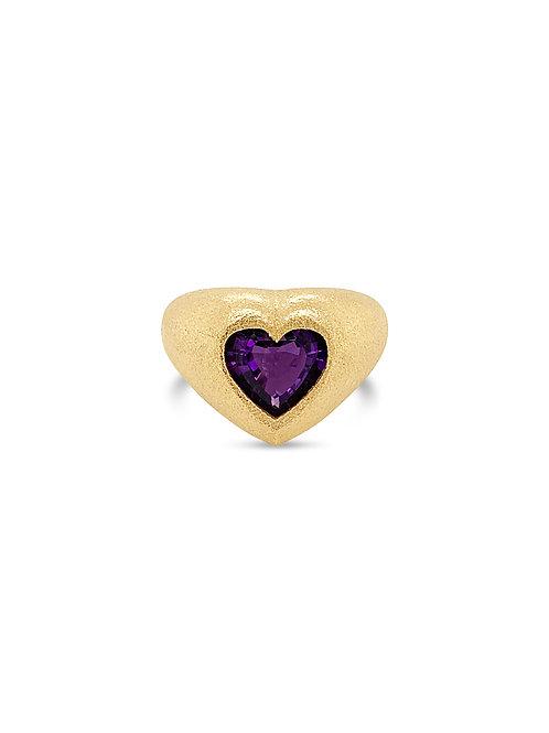 Love Amethyst Ring