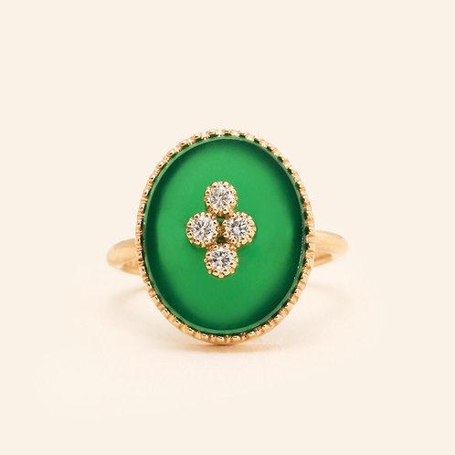 La-Rose-Des-Alizés Agate Ring