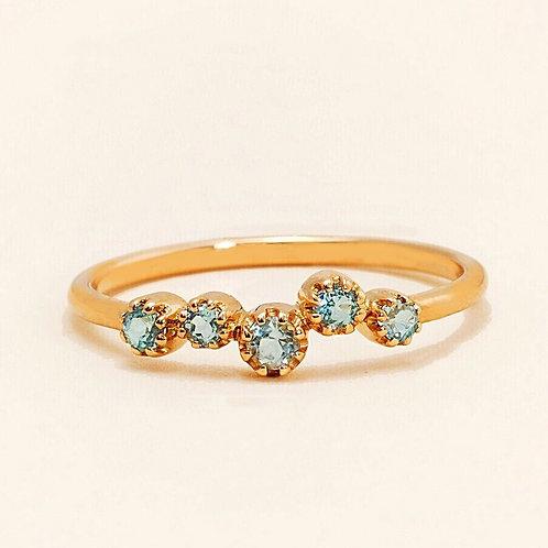 Magic-Topkapi Blue Topaz Ring
