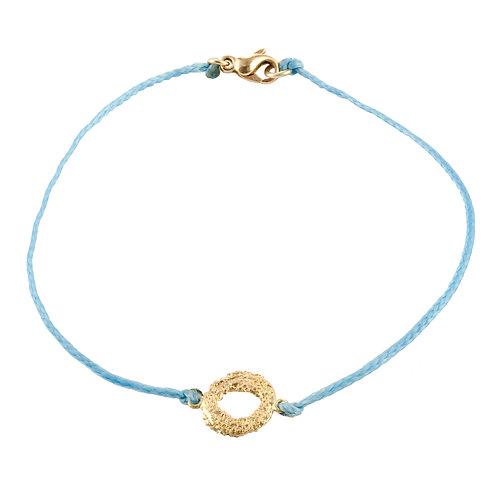 Mati Cotton & 18Kt Gold Bracelet