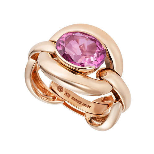 Ring Pink Topaz