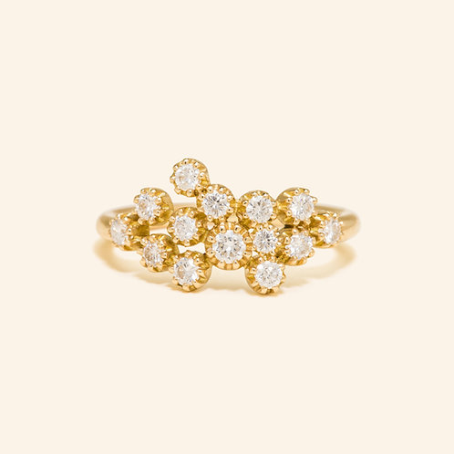 Magic Topkapi Yellow Gold Ring