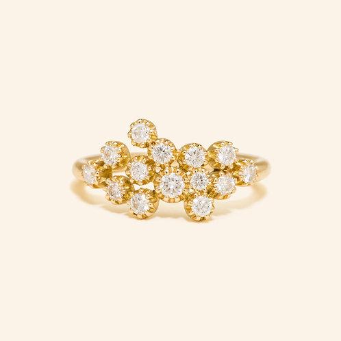Magic Topkapi Yellow Gold Ring
