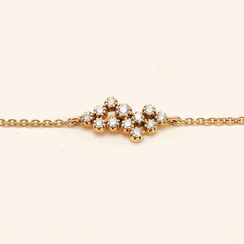 Magic Topkapi Yellow Gold Diamond Bracelet