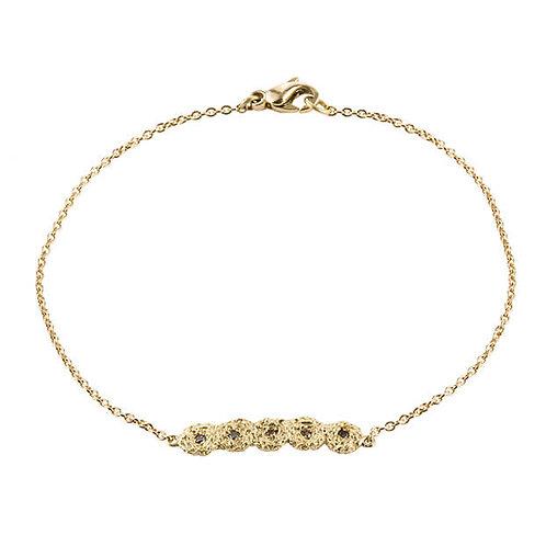 Cognac Diamond Shisha Line Bracelet