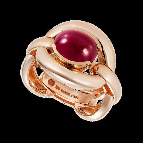 Catena Ruby Cabochon Ring