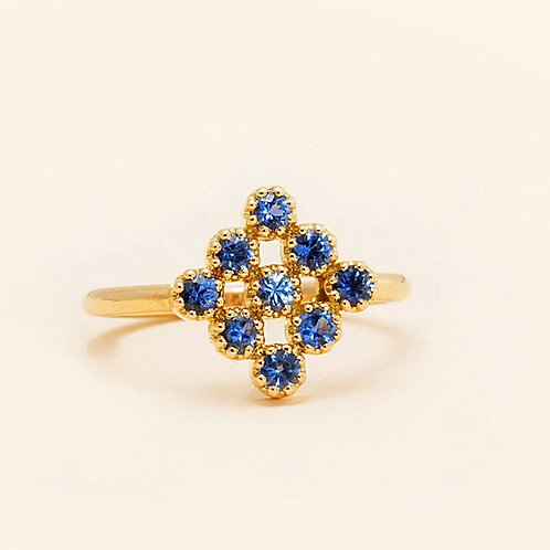 Magic-Topkapi Sapphire Ring