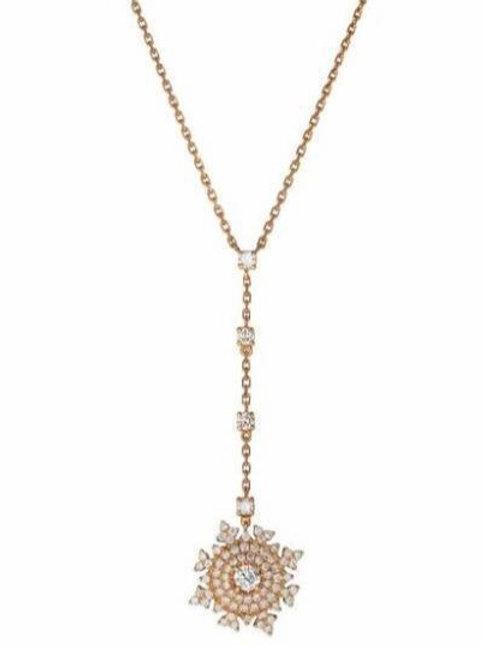 Petite Tsarina Rose Gold Long Necklace
