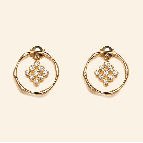 Magic Topkapi Diamond Earrings