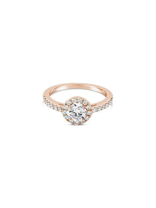 THE HALO DIAMOND RING