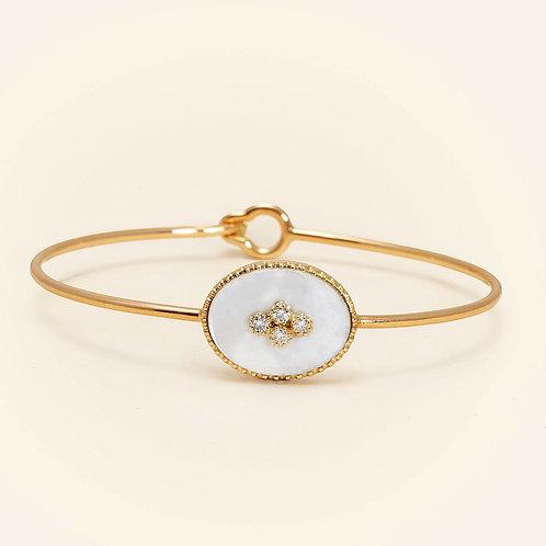 La Rose Des Alizés Mother Pearl Bracelet