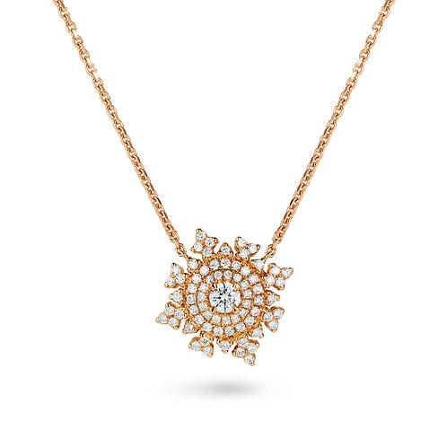 Petite Tsarina Rose Necklace