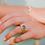 Thumbnail: Oval Topaz Ring