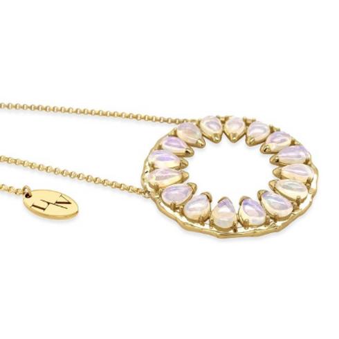Solar Opal Pendant