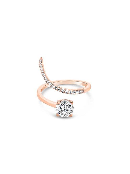 SNAKE DIAMOND RING