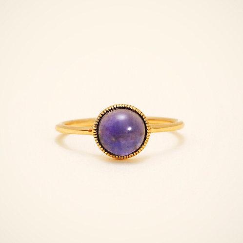 Antoinette Iolite Ring