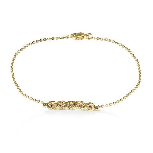 Shisha Pink Line bracelet