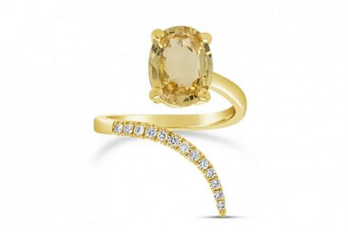 Snake Sapphire Ring
